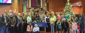 People of Bethel in the sanctuary